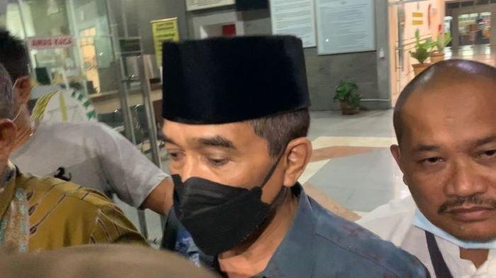 Ahmad Najib Resmi Ditetapkan Sebagai Tersangka Oleh Kejati Sumsel dalam Kasus Masjid Sriwijaya