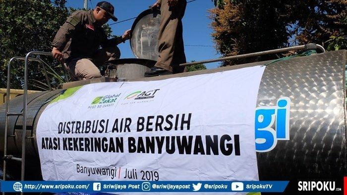 ACT Distribusikan Belasan Ribu Air Bersih ke Warga Banyuwangi