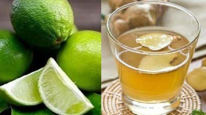 Baik untuk Kesehatan, Ini Manfaat Minum Air Jahe Dicampur Jeruk Nipis, Bisa Keluarkan Racun Tubuh