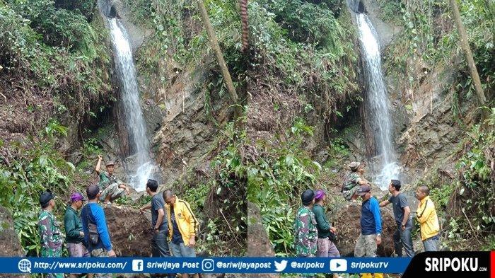 Wisata Air Terjun Durian Tujuh di Desa Perangai Kecamatan Merapi Selatan Lahat, Ini Penampakannya!