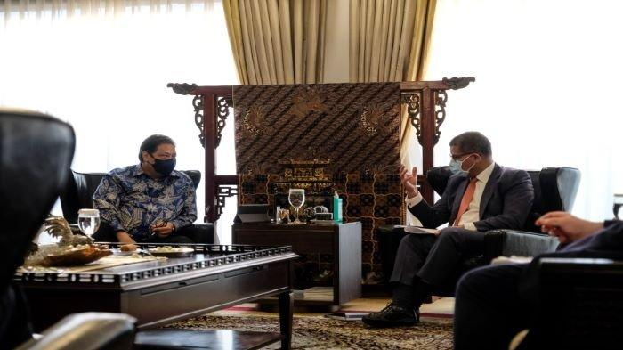 Airlangga Hartarto Bangga Inggris Akui Komitmen Indonesia dalam Menerapkan Pertanian Berkelanjutan