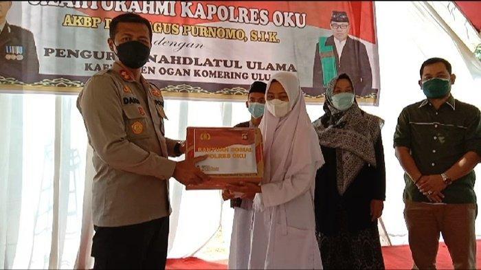 Kapolres OKU Silaturahmi dengan PC NU Kabupaten Ogan Komering Ulu