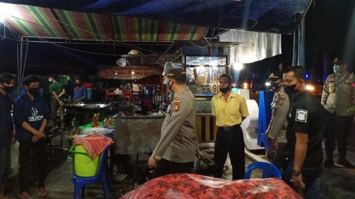 Malam Minggu, AKBP Efrannedy Turun Langsung ke Jalan: Datangi Pemilik Rumah Makan dan Pedagang