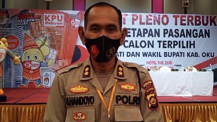 Polres OKU Turunkan 50 Personel Amankan Rapat Pleno Penetapan Bupati-Wabup Terpilih