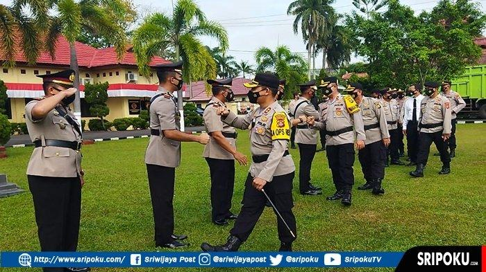KAPOLDA Sumsel Mutasikan 3 Perwira di Polres OI, Kapolsek Indralaya Digeser Jabat Jadi Kasat Lantas