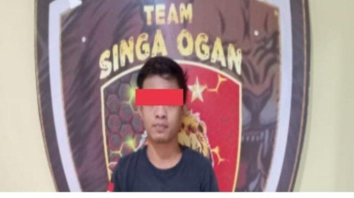 Satu dari Dua Pencuri Aki Mobil Milik PT BMU Ditangkap Singa Ogan Polres OKU, Aksinya Terekam CCTV