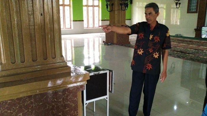 Maling Kotak Masjid Terekam CCTV, Pengurus Masjid Muhajirin Lapor Polisi