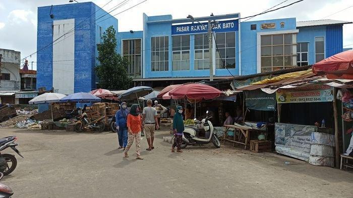 Hari Ketiga Lebaran, Beberapa Pedagang di Pasar Soak Bato Mulai Berjualan