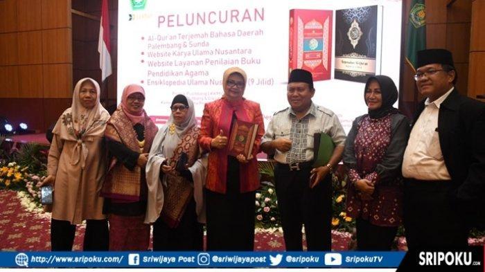 Menteri Agama Resmi Luncurkan Al-Qur'an Terjemah Bahasa Palembang