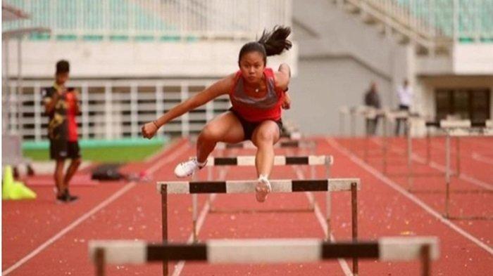 Atlet Lari Gawang Muba 'Aldinda Dedek' Ikut Kejuaraan di Thailand