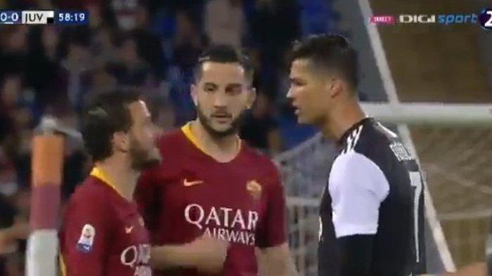 Dihina Cebol, Kapten Roma Ungkap Sebab Perkelahian dengan Cristiano Ronaldo