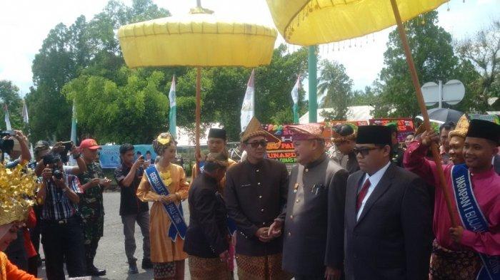 Gubernur Alex Noerdin Hadiri Rapat Paripurna Istimewa II DPRD Kabupaten PALI