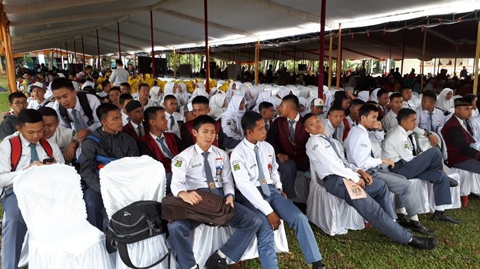 Gaungkan Asian Games, Gubernur Alex Noerdin Sambangi Kota Pagaralam