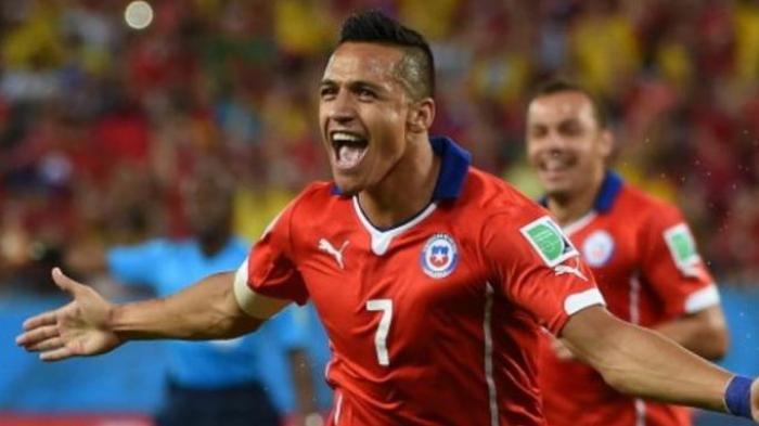 Hasil Copa America 2019 - Gol Alexis Sanchez Bawa Chile Lolos Perempat Final