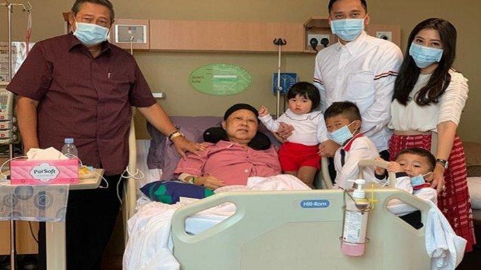 BREAKING NEWS: Inna Lillahi Wainna Ilaihi Rajiun, Ani Yudhoyono Meninggal Dunia