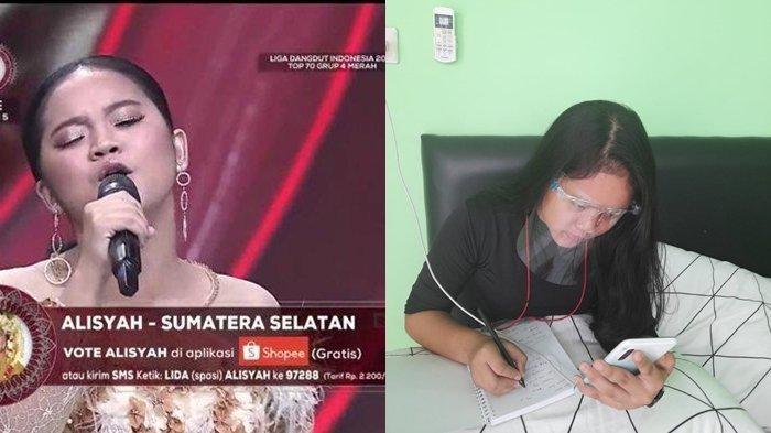 Warga Pedamaran Sebar Poster Alisyah Duta Dangdut LIDA 2021 Indosiar, Berharap Dukungan Pemkab OKI