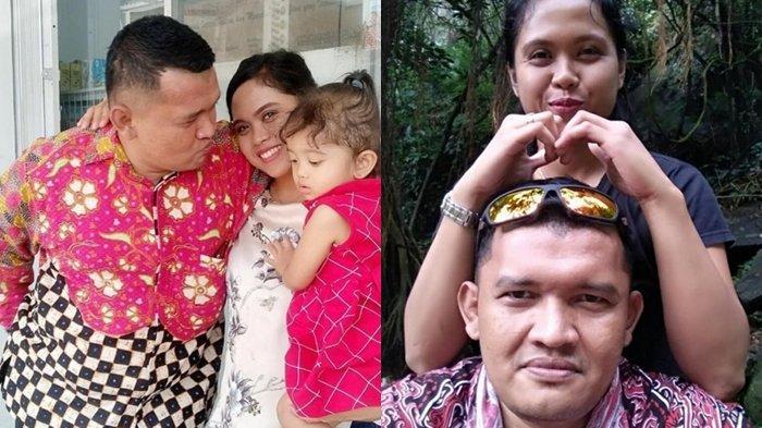 Bripka MP Ambarita dan keluarga