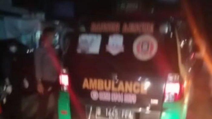 Menumpang Mobil Ambulans, Modus Baru Pemudik Lebaran Kelabui Polisi