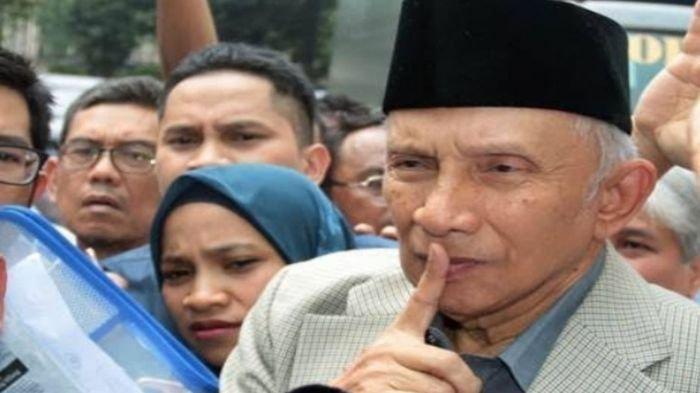 'Saya Dikeroyok', Amien Rais Ungkit Masa Lalu di PAN, Usai Ditinggal Pengurus Partai Ummat