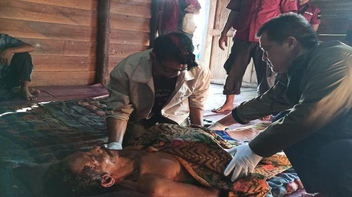 Anak Bacok Leher Bapaknya Hingga Tewas Terjadi di Kecamatan Lalan Kabupaten Musi Banyuasin