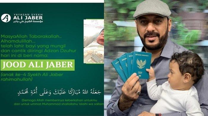 Bak Firasat, Tak Sempat Lihat Putrinya Lahir, Syekh Ali Jaber Ternyata Sudah Siapkan Nama 'Jood'