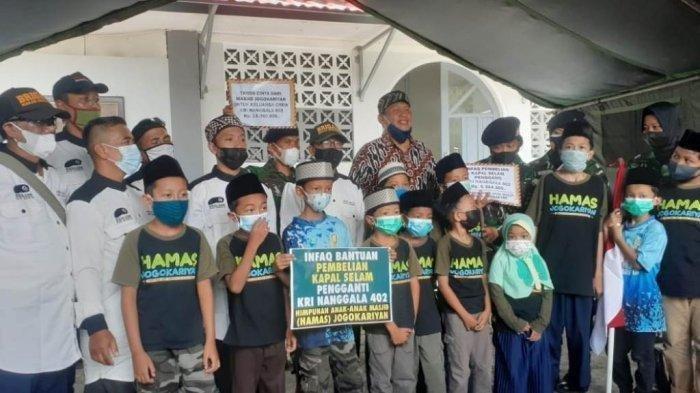 Donasi Anak Masjid di Jogja, Dukung Pengadaan Kapal Selam Baru Pengganti KRI Nanggala 402