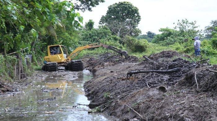 Wajar Saja Tiap Tahun Palembang Banjir, Puluhan Anak Sungai sudah Berubah Jadi Daratan