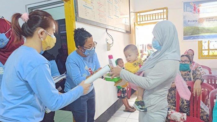 Rotary Club Palembang dan FKPI Sumsel Launching Program Ayo Cegah Stunting