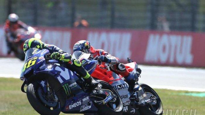 SEDANG BERLANGSUNG : TV Online Trans7 Live Streaming Moto GP Prancis, Valentino Rossi 5 Besar
