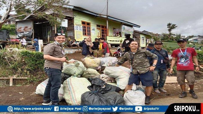 40 Karung Sampah Dikumpulkan dari Kawasan Gunung Dempo, BRIGADE Ketatkan Peraturan Bagi Pendaki