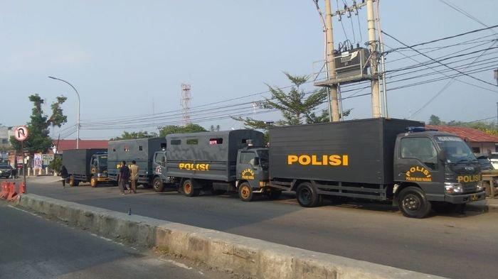 Pasca Bentrok Polisi dengan Warga, 269 Anggota Brimob Di-BKO-kan ke Polres Empatlawang