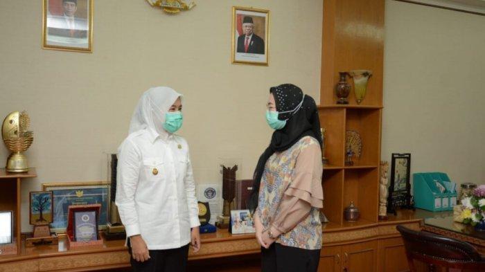 Progam Lingkungan Anggota DPD RI Amaliah Sobli Disambut Baik Wawako Palembang Fitrianti Agustinda