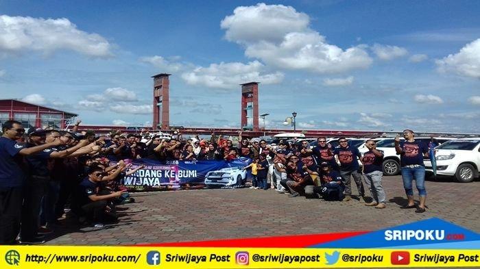 Promosikan Siap Tuan Rumah Asian Games, Komunitas Fortuner Bertandang ke Bumi Sriwijaya