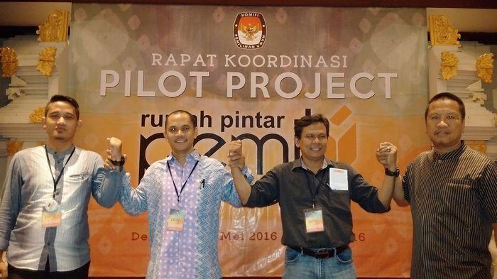 Sumsel Raih Empat Penghargaan Evaluasi 'Pilot Project' Rumah Pintar Pemilu