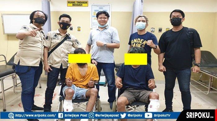 Melawan AKP Robert P Sihombing, 2 Pelaku Begal di Palembang Ini Keok Dihadiah Timah Panas