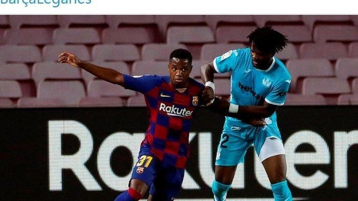 Remaja Rawan Cedera Jadi Pemilik Nomor 10 di Barcelona Sepeninggal Messi, Ini Nomor Depay dan Aguero