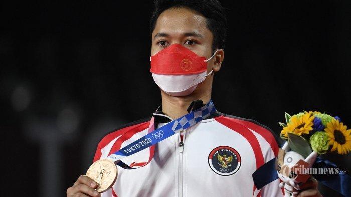 UPDATE Terbaru Perolehan Medali Olimpiade Tokyo Hari Ini, Setelah Ginting Raih Tambah Perunggu