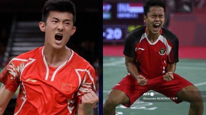 SEDANG BERLANGSUNG, Streaming Badminton Olimpiade Tokyo 2020 Indosiar: Anthony Ginting Incar Final