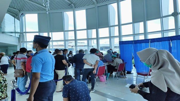 Mulai Hari Ini Bandara SMB II Berlakukan Rapid Test Antigen, Khusus Tujuan Jawa dan Bali