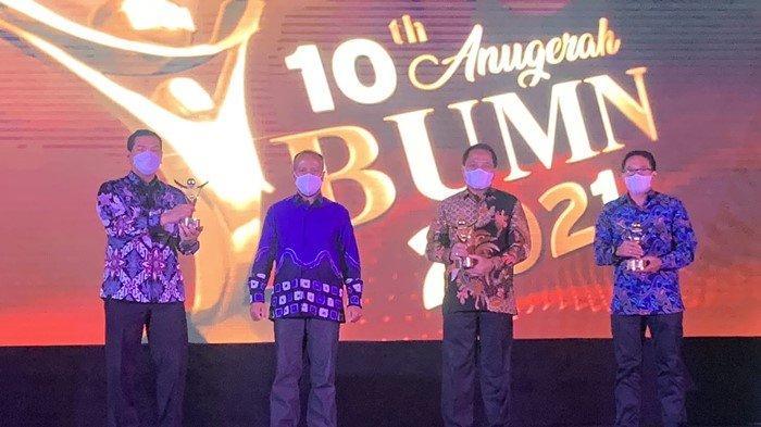 Anugerah BUMN 2021 Tahun ke-10, Apresiasi Bagi BUMN Tangguh Hadapi Badai Pandemi