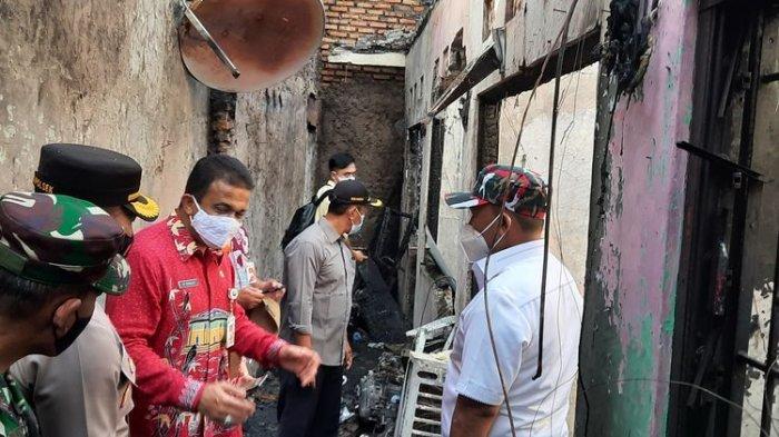 JELANG Subuh, Maut Menjemput, 10 Penghuni Bedeng Kontrakan Tewas Terbakar: Tidur Pulas