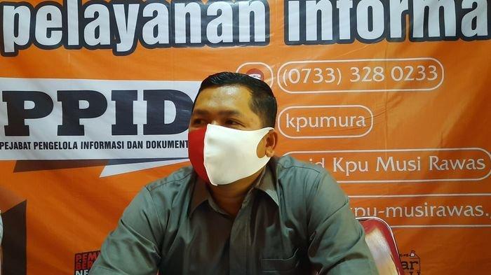 KPU Musirawas Siapkan Tenda untuk Pendaftaran Cakada, Sebelum Masuk Wajib Cek Suhu Tubuh