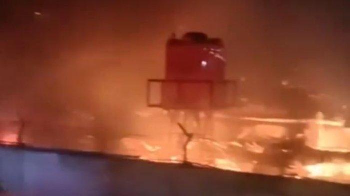 TERIAKAN Histeris Menyayat Hati di Tengah Malam, Puluhan Napi Terjebak Kobaran Api: 2 Jam Terbakar