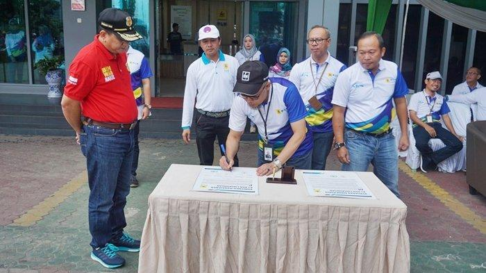 PLN Unit Induk Wilayah S2JB Gelar Apel Bersama Bulan K3 Nasional 2019