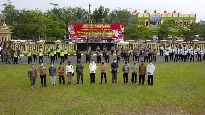 Kapolres OKU AKBP Arif Hidayat Ritonga Pimpin Apel Kebangsaan, Menuju Indonesia Sehat dan Unggul
