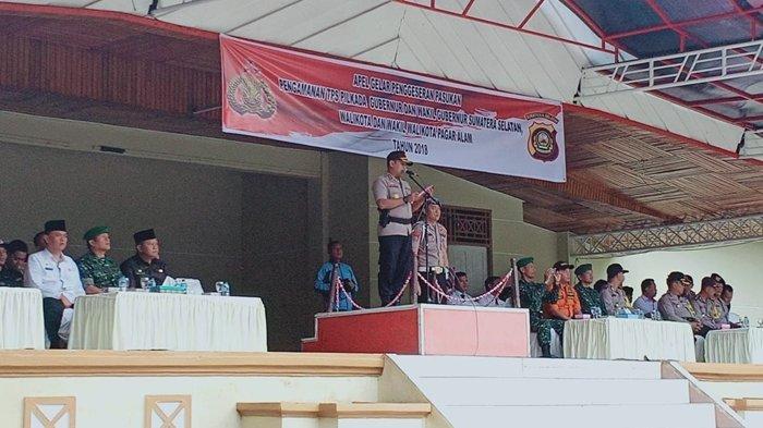 Daerah Rawan Pilkada,Kapolres Pagaralam Minta Anggota Deteksi Dini Ancaman Kamtibmas