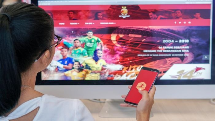 Berita Sriwijaya FC: PT SOM Luncurkan Aplikasi 'Kito Sriwijaya' Digitalisasi Klub Laskar Wong Kito