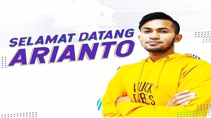Absen Latihan Perdana, Striker Anyar Sriwijaya FC Arianto Buka Suara Bukan Cidera Tapi?