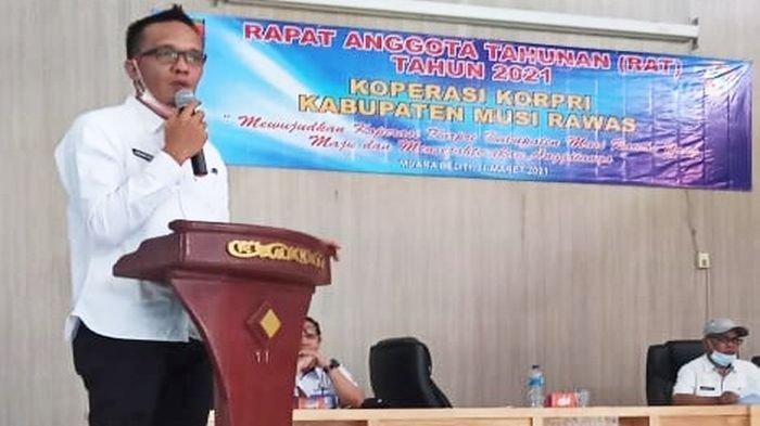 Profil Arief Candra, Ketua Koperasi Korpri Musi Rawas, Mantan Aktivis dan Jurnalis, Kini Jadi PNS