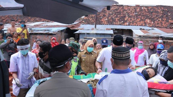 8 Bulan Terbaring Akibat Luka Bakar, Akhirnya Aris Munandar Dibawa Wawako Fitri ke RS BARI Palembang